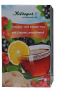 Lively, warming fruit and herbal tea, also with cold with white thorn, black currant, aronia and ginger, 20x3g, 60g