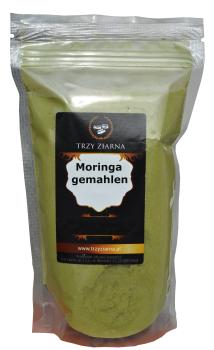 Moringa Blätter, zermahlen 250g, senken Blutdruck, Vitaltonikum für optimale Versorgung mit Mineralstoffen, Vitaminen, Spurenelementen, Antioxidantien, helfen abzunehmen, beheben entzündliche Prozesse bei Arthrose, Arthritis,