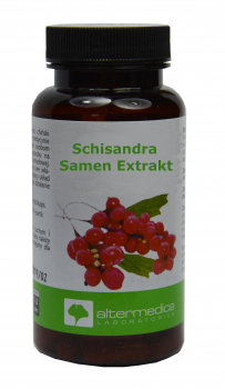 Schisandra seed extract - strengthens the nerves, increases stress  tolerance and endurance, in sleep disorders, mental stress, for the liver,  60