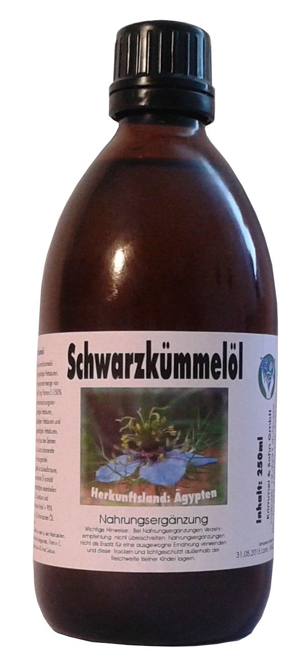 Bestes Schwarzkümmelöl