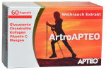 Artro for the joints with glucosamine, chondroitin, frankincense, collagen, brake inflammation, 60 capsules