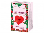 Cardiatefix - Herbal tea with hawthorn, strengthens the heart, improves blood circulation, relaxes, 20 teabags x 2g, 40g