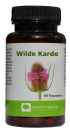 Wild carded extract capsules in borreliosis, skin infections, acne, eczema, joint pain, stiffness, antibacterial, anti-inflammatory, digestive